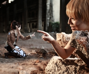 cosplay, attack on titan, and shingeki no kyojin image