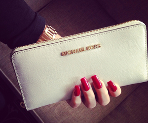 nails, fashion, and Michael Kors image