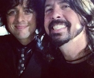 billie joe and dave grohl image