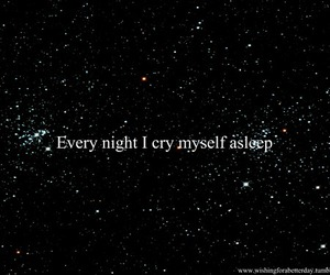 alone, asleep, and black image