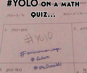 yolo, funny, and haha image
