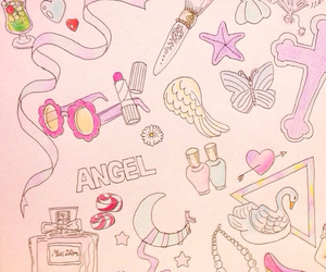 angel, dior, and heart image