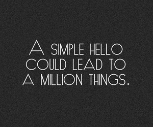 quotes, hello, and text image