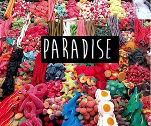 paradise, candy, and food image