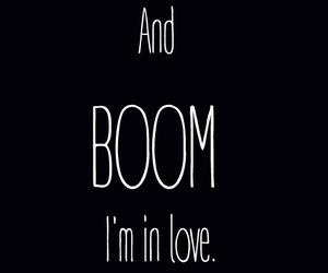boom and love image