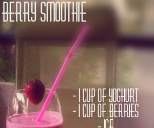 berries, berry, and drink image