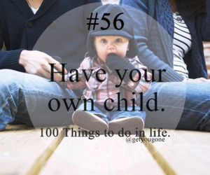 child, 100 things to do in life, and 56 image