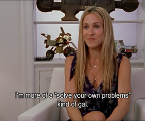 carrie, quote, and satc image