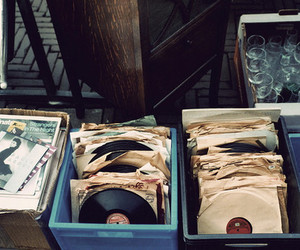 music, vintage, and vinyl image