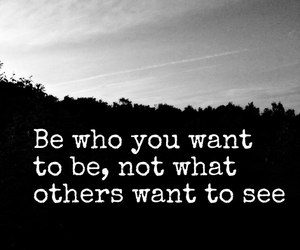 be yourself, inspire, and quotes image