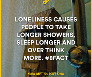 shower, loneliness, and sleep image