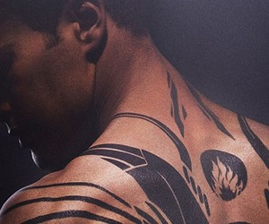 four, divergent, and tattoo image