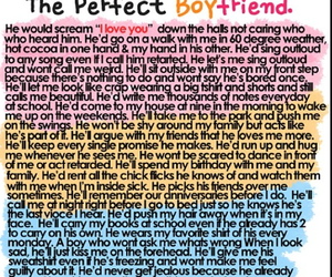 boyfriend, love, and perfect image
