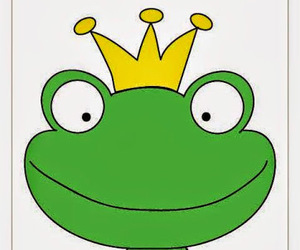 adorable, fairytale, and frog image
