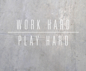 quote, hard, and play image