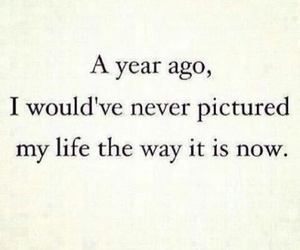 life, quotes, and year image
