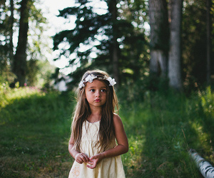 girl, pretty, and flowers image