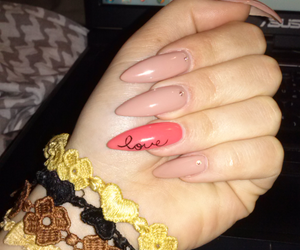 nails, cruciani, and love image