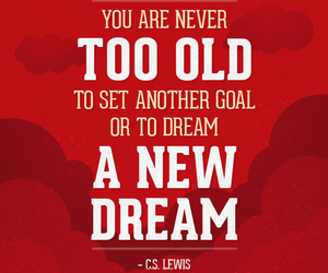 cs lewis, Dream, and inspiration image