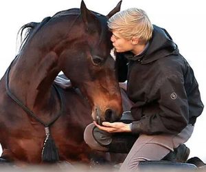 boy, truelove, and horse image
