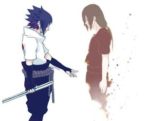 itachi, sasuke, and uchiha image