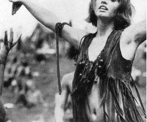 hippie, woodstock, and vintage image