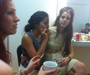 lana del rey, smoking, and grunge image