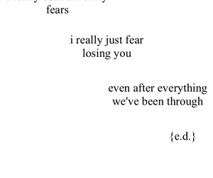 broken, fear, and ily image