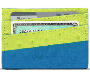 ostrich, wallet, and cardholder image