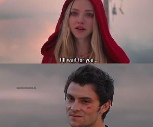 red riding hood and love image