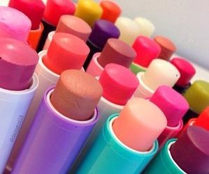 baby lips, lipstick, and make up image