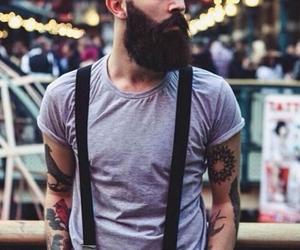 beard and tattoo image