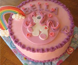 cake and my little pony image