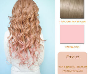 diy, hair, and ombre image