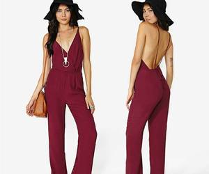 fashion, jumpsuit, and girly image