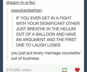couple, fight, and funny image