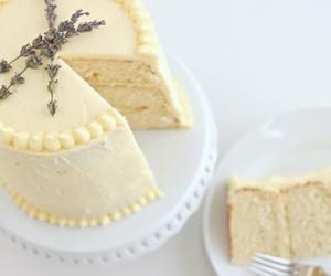 cake, lemon, and cake 美食 image