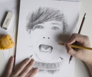 drawing, one direction, and art image