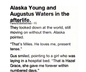 looking for alaska and the fault in our stars image