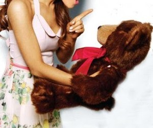 ariana grande, ariana, and bear image