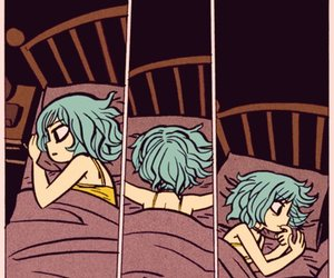 night and sleep image