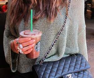 fashion, chanel, and starbucks image