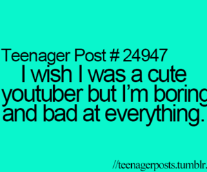 cute, bad, and youtube image