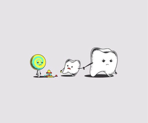 candy, teeth, and funny image