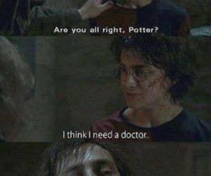 doctor who, harry potter, and daniel radcliffe image
