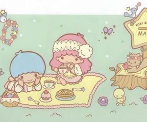 sanrio, little twin stars, and kiki&lala image