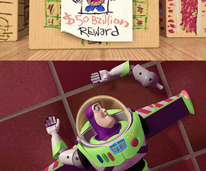 buzz lightyear, disney, and toy story image