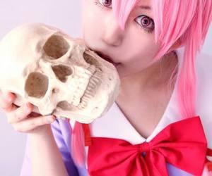 Halloween, anime cosplay, and yuno gasai cosplay image