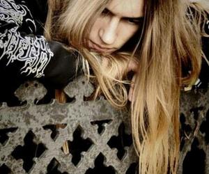man, long hair, and metalhead image
