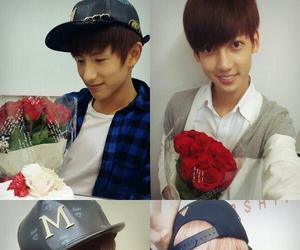 asia, boyfriend, and flower image